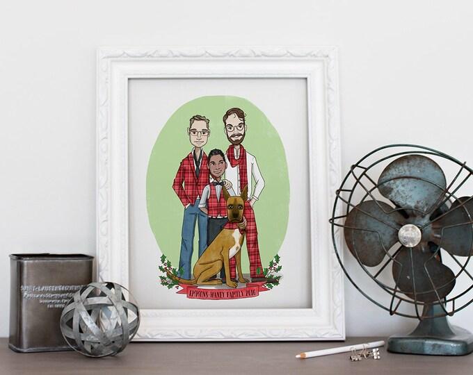 Featured listing image: Custom Single/Family Portrait