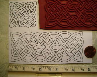tattoo celtic knots rope  rubber stamp un-mounted scrapbooking rubber stamping