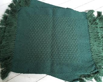 Handwoven cotton placemats