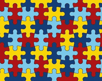 Autism Awareness 12 x 12 Inch Craft Vinyl Sheet, Permanent Adhesive 3-5 Year Outdoor Lilly vinyl, Lilly vinyl sheet