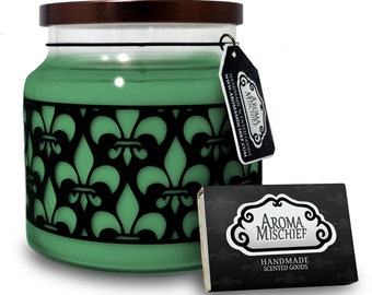 Green Tea & Lemongrass  Soy Candle | Soy Candles | Jasmine Candle | Scented Candles | Housewarming Gift | Jasmine Candle | Lemongrass