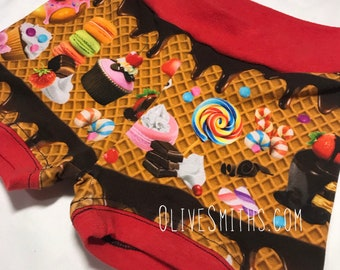 Sweet Treats Fitted Youth Shorts