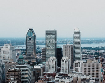 Skyline Trio - Montréal - Fine Art Print - Photograph - Wall Art - Decor