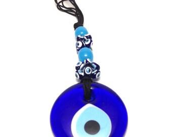 Evil eye Wall Hanging - Protection & Good Luck - Mati - Filaxto