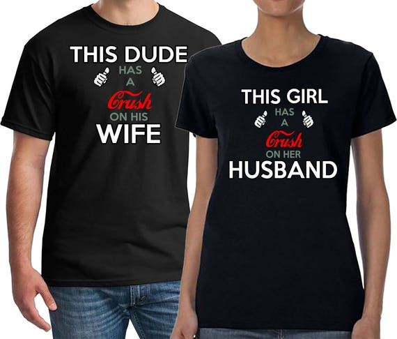 Couples Shirts, Honeymoon Shirts, Vacation Couples Tshirts, Connected to Her/Him, Funny Wifi Shirts, Wedding Gift, Gift
