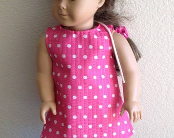 """Dress Made to fit 18"""" Dolls Such as American Girl Item #50"""