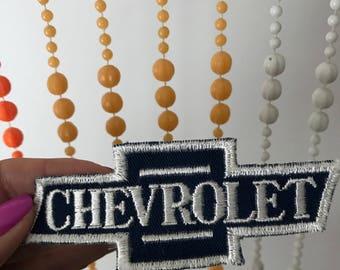 Vintage Chevy Chevrolet Car Patch Logo