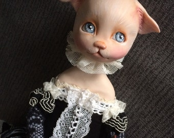 Poupée chat Diana
