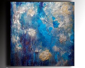 Abstract Art Acrylic Painting Modern Original Painting canvas