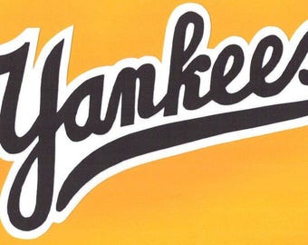 Huge New York Yankees Iron On Patch