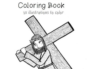 Paperdali: Catholic coloring books printables jewelry by paperdali