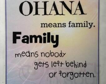Ohana Means Family Etsy