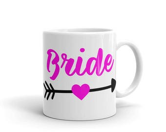 Bride Pink-blk Mug made in the USA