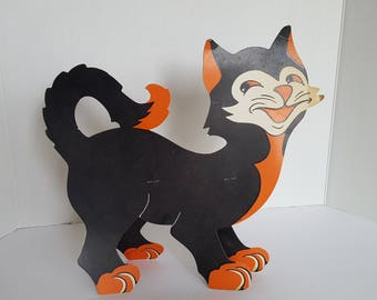 Halloween stand up Black Cat Halloween Decoration