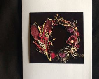 Blank Card - Foraged Flowers - Pretty Photo Card - Greeting  Card