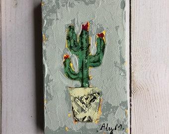 Cactus painting #1