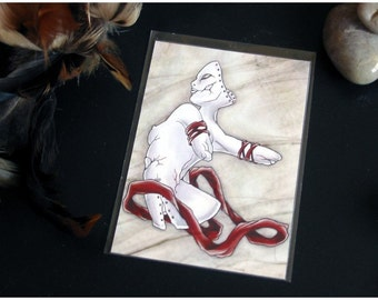 ACEO Limited Edition Archival Print, 'Madone'