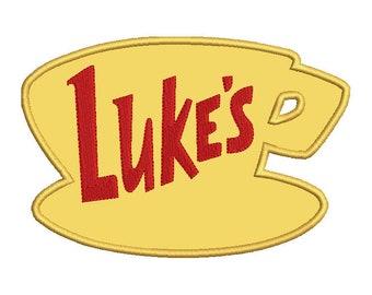 Luke's 4x4, 5x7, 6x10 Applique Embroidery Design
