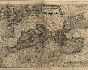 Poster, Many Sizes Available; Map Of Europe 1572