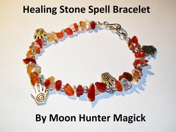 Stone Magick Healing Bracelet 20+ years experience Crystal Healing Charm
