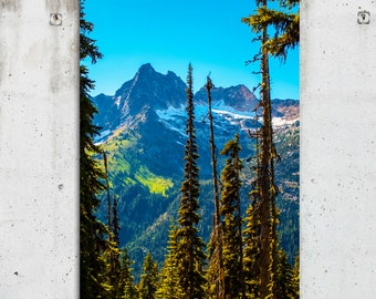 North Cascades National Park - Scenic, PNW, Mountain View, Photography - WA State - Fine Art Print - Canvas Gallery Wrap - Metal Print