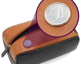 Groomsmen Dopp Kit, Leather Toiletry Bag, Shaving Kit, Personalized Dopp Kit, Monogrammed Dopp Bag, Mens Dopp Kit, Engraved Tolietry Bag