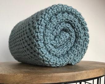 Baby Blanket - Handmade blanket crochet - Baby shower gift - Newborn gift - Stroller blanket - Crib blanket - Receiving blanket - Afghan