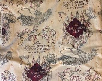 Marauders Map Leggings, Leggings, Geek Leggings, Harry Potter Leggings, Women's Leggings