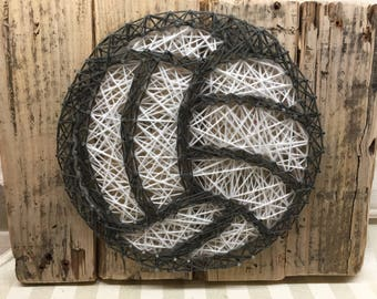 String Art Sign - Volleyball