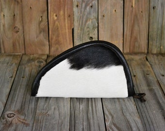 Hair On Hide Leather Medium Pistol Case MP-905
