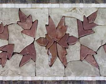 Border Petal Mosaic Design