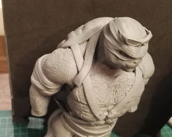 3d printed figure from TMNT - Raphael