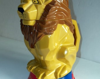 Vintage Ringling Brothers and Barnum & Bailey Circus Lion Mug, Stein, Cup.  (R185)