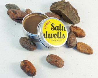 Handmade Lip Balm, Natural Lip Balm, Chocolate Lip Balm, Lip Butter, Lip Moisturizer, Ghee Lip Balm, Ayurvedic