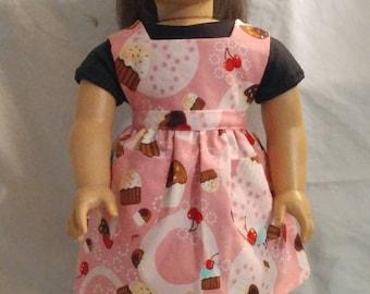 "Dolly Apron ""Pink Cupcake"""