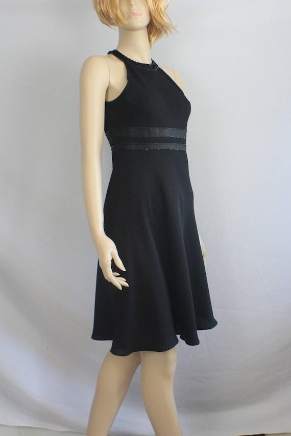 90s prom dress vintage 1990s dress Evan Picone dress halter