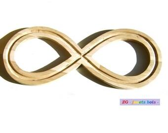 Oak, infinity symbol, eight lemniscate lying deep meditation