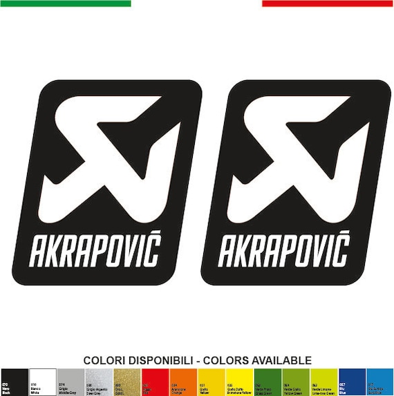 108 akrapovic stickers decals stickers aufkleber pegatinas ducati corse motogp yamaha kawasaki honda redbull from speedycradle on etsy studio