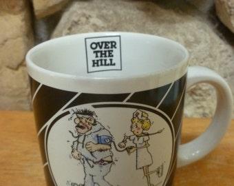 Enesco 40 Over the Hill Jogging mug