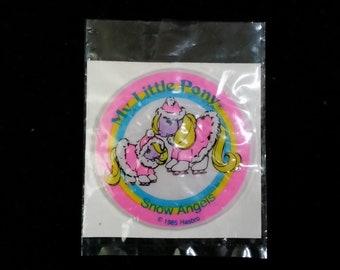 My Little Pony Puffy Sticker Snow Angels 1985