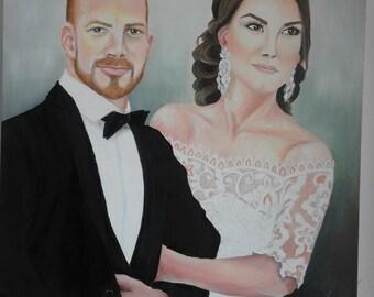 Drawing portraits on a photo,Comission portraits,Oil portraits