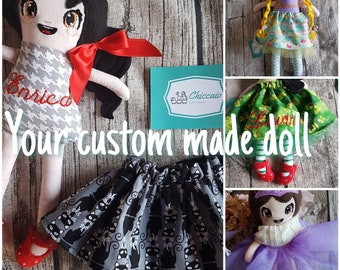Create your own custom made doll