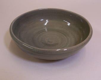 Dessert bowl. With celadon green glaze.