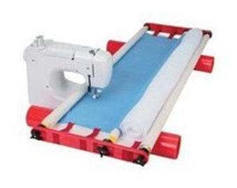 """John Flynn Portable Mulit-Frame for Machine & Hand Quilting No Basting Quilt 48"""""""