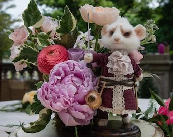 Dormouse Mallymkun Art Doll from Alice in Wonderland