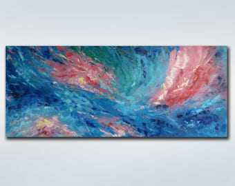 Large Abstract Painting Extra Large Wall Art Original oil painting Colorful Painting Contemporary Art Modern Painting Living Room Wall Decor