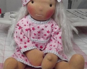 "Waldorf inspired Doll  50 cm/20"""