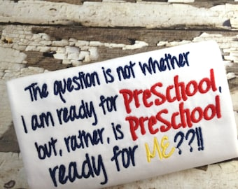 Watch out Preschool Shirt, Watch out for Me Shirt - Back To School Shirt Preschool