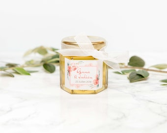 Honeypot 50gr customized for your wedding