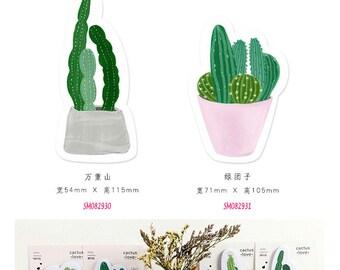 Succulents v2 Post IT Notes Sticky Memo
